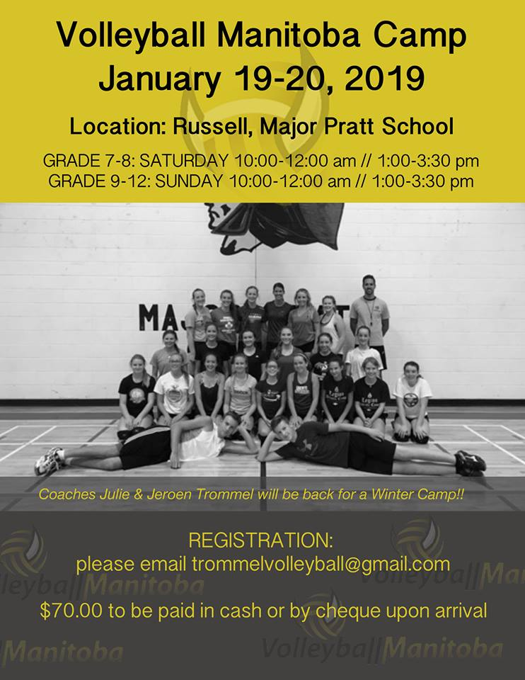 Volleyball Manitoba Camp